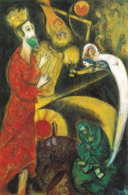 Chagall -Re Davide